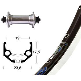 """Rigida TX500 SSP Vorderrad Zac 19 36 Loch 28"""" schwarz/silber"""